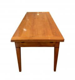 Neoclassical Expandable Dining Table Cherry Wood Chestnut France circa 1820 - 2124312