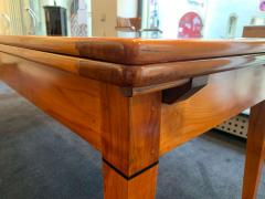 Neoclassical Expandable Dining Table Cherry Wood Chestnut France circa 1820 - 2124315