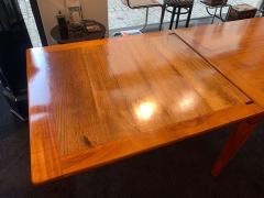 Neoclassical Expandable Dining Table Cherry Wood Chestnut France circa 1820 - 2124317