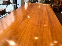 Neoclassical Expandable Dining Table Cherry Wood Chestnut France circa 1820 - 2124319