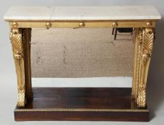 Neoclassical Giltwood and Rosewood Pier Table - 656155