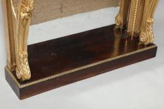 Neoclassical Giltwood and Rosewood Pier Table - 656156