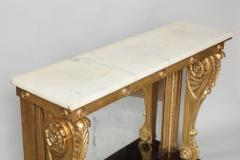 Neoclassical Giltwood and Rosewood Pier Table - 656157
