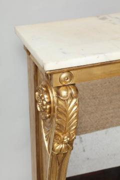 Neoclassical Giltwood and Rosewood Pier Table - 656167