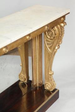Neoclassical Giltwood and Rosewood Pier Table - 656168