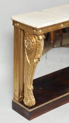 Neoclassical Giltwood and Rosewood Pier Table - 656169