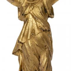 Neoclassical Gold Gilt Figure On Stand - 1595213