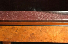 Neoclassical Italian Center Table with Imperial Porphyry Marble Tabletop - 1774879
