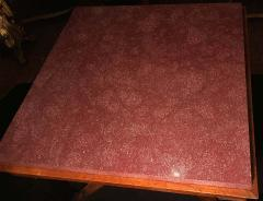 Neoclassical Italian Center Table with Imperial Porphyry Marble Tabletop - 1774882