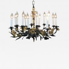 Neoclassical Style Foliate 14 Light Chandelier - 751159