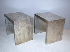 Neuland I Silver Leafed Side Tables - 148118