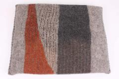 New Contemporary Hand Felted Wool Bench with 2 Cushions - 1598755