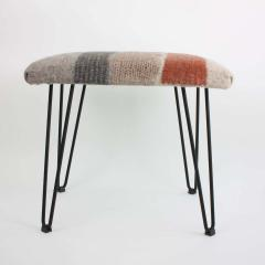 New Contemporary Hand Felted Wool Stool - 1608623