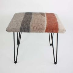 New Contemporary Hand Felted Wool Stool - 1608627