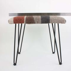 New Contemporary Hand Felted Wool Stool - 1608634