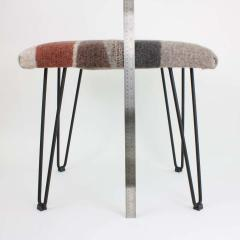 New Contemporary Hand Felted Wool Stool - 1608639