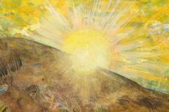 Nick Stavrides Amagansett Sunset by Nick Stavrides Oil on Canvas - 1175087