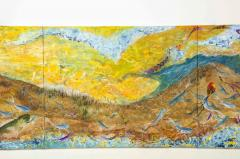 Nick Stavrides Amagansett Sunset by Nick Stavrides Oil on Canvas - 1175088
