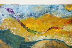 Nick Stavrides Amagansett Sunset by Nick Stavrides Oil on Canvas - 1175092