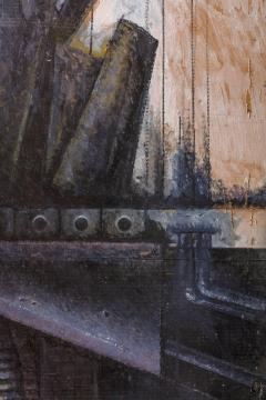 Nick de Angelis Nick de Angelis Untitled Oil on Board Painting USA 2000s - 569376