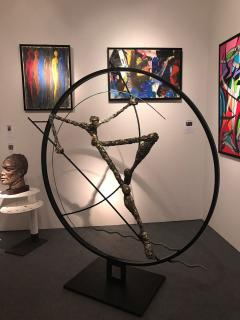 Nicola Rosini Original Sculpture by Nicola Rosini Saut du Cercle - 1041267
