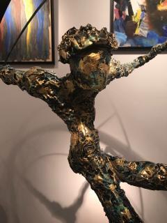 Nicola Rosini Original Sculpture by Nicola Rosini Saut du Cercle - 1041268