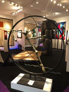 Nicola Rosini Original Sculpture by Nicola Rosini Saut du Cercle - 1041270