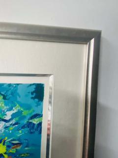 Nicola Simbari Nicola Simbari Limited Edition Seriograph Print titled TAORMINA Framed - 1688517