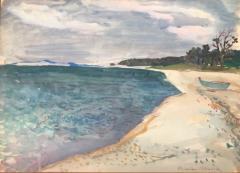 Nicolai Cikovsky Beach on Peconic Bay  - 1218262