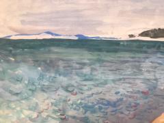 Nicolai Cikovsky Beach on Peconic Bay  - 1218263