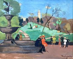 Nicolai Cikovsky Bethesda Fountain Central Park  - 1527097