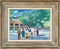 Nicolai Cikovsky Carousel in Central Park  - 527546