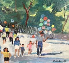Nicolai Cikovsky Carousel in Central Park  - 527547