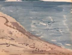 Nicolai Cikovsky Figures by Peconic Bay  - 1218267