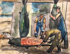 Nicolai Cikovsky Fish Mongers  - 812375