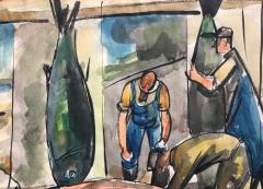 Nicolai Cikovsky Fish Mongers  - 812376