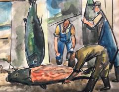 Nicolai Cikovsky Fish Mongers  - 812377