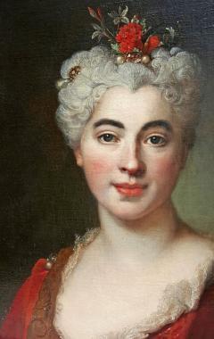 Nicolas de Largilli rre Portrait Of Elisabeth Marguerite The Artists Daughter - 1579252