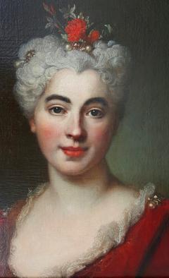 Nicolas de Largilli rre Portrait Of Elisabeth Marguerite The Artists Daughter - 1579255