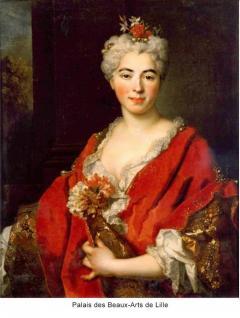 Nicolas de Largilli rre Portrait Of Elisabeth Marguerite The Artists Daughter - 1579291