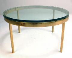 Nicos Zographos Nicos Zographos Solid Brass Coffee Table - 198661
