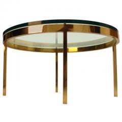 Nicos Zographos Nicos Zographos Solid Brass Coffee Table - 198663