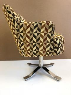 Nicos Zographos Set of Six Nicos Zographos Swivel Chairs - 656830