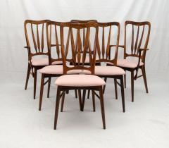 Niels Koefoed Set Of Six Danish Ingrid Rosewood Dining Chairs By Koefoeds  Hornslet   205044