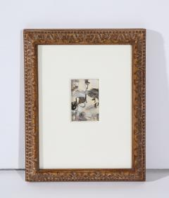 Niels Michaelsen Painting in Carved Frame - 1454868