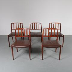 Niels Otto M ller M ller Model 83 Dining Chairs Denmark 1960 - 1143705