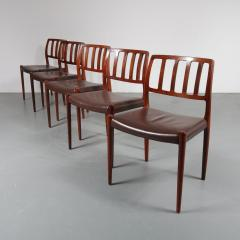 Niels Otto M ller M ller Model 83 Dining Chairs Denmark 1960 - 1143706