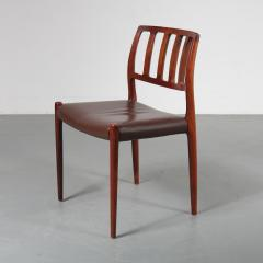 Niels Otto M ller M ller Model 83 Dining Chairs Denmark 1960 - 1143710