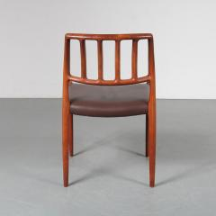Niels Otto M ller M ller Model 83 Dining Chairs Denmark 1960 - 1143712
