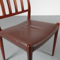 Niels Otto M ller M ller Model 83 Dining Chairs Denmark 1960 - 1143717